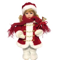 Christmas Baby Doll 'Bella Grace' 30cm