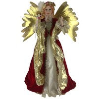 Angel Red/Gold Animated 80cm