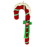 Large Red Candy Cane 80cm
