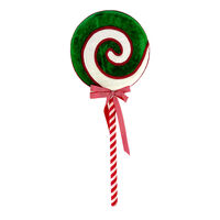 Candy Green Swirl Lollypop 85cm