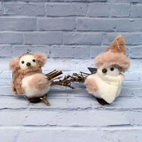 Small Birds with Clip Decoration