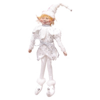 Elf Whimsical 35cm White