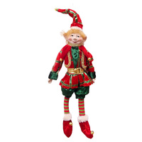 Elf Whimsical 35cm Red/Green
