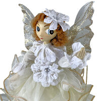 Lucinda Eldin 30cm White/Gold Fairy
