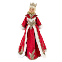 Lucinda Eldin Traditional Mrs Claus 72cm