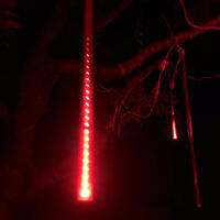 Falling Star LED 70cm Tube RED