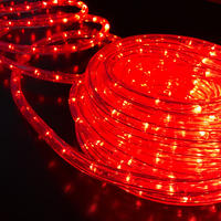Rope Light RED Extendable 10m