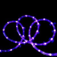 Rope Light PURPLE Extendable 10m