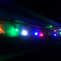 String Lights MULTICOLOUR 10m Green wire