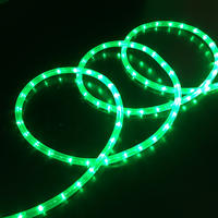 Rope Light 12V GREEN 15m