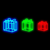 3D Gift Boxes - Set of 3