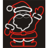 Santa Waving Hand Motif 70cm with Speed Controller