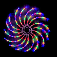 LED Spinner Rainbow Multicolour 50cm