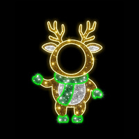 Baby Reindeer Photo Op Stand-In 1.5m LED