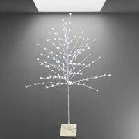 White Cherry Blossom Tree Light LED 1.5m