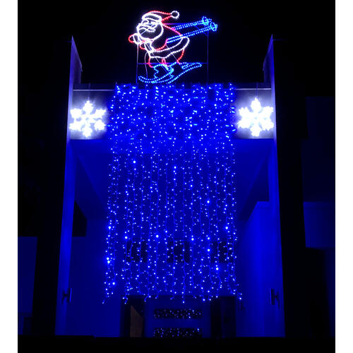 Curtain Lights BLUE W1.7m x H3.0m