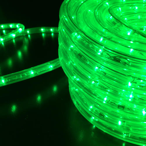 Rope Light GREEN Extendable 10m